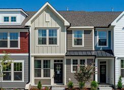 Rochester - Wendell Falls Townhomes: Wendell, North Carolina - Dan Ryan Builders