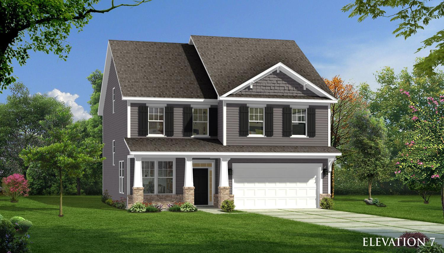 Exterior featured in the Devon By Dan Ryan Builders in Raleigh-Durham-Chapel Hill, NC