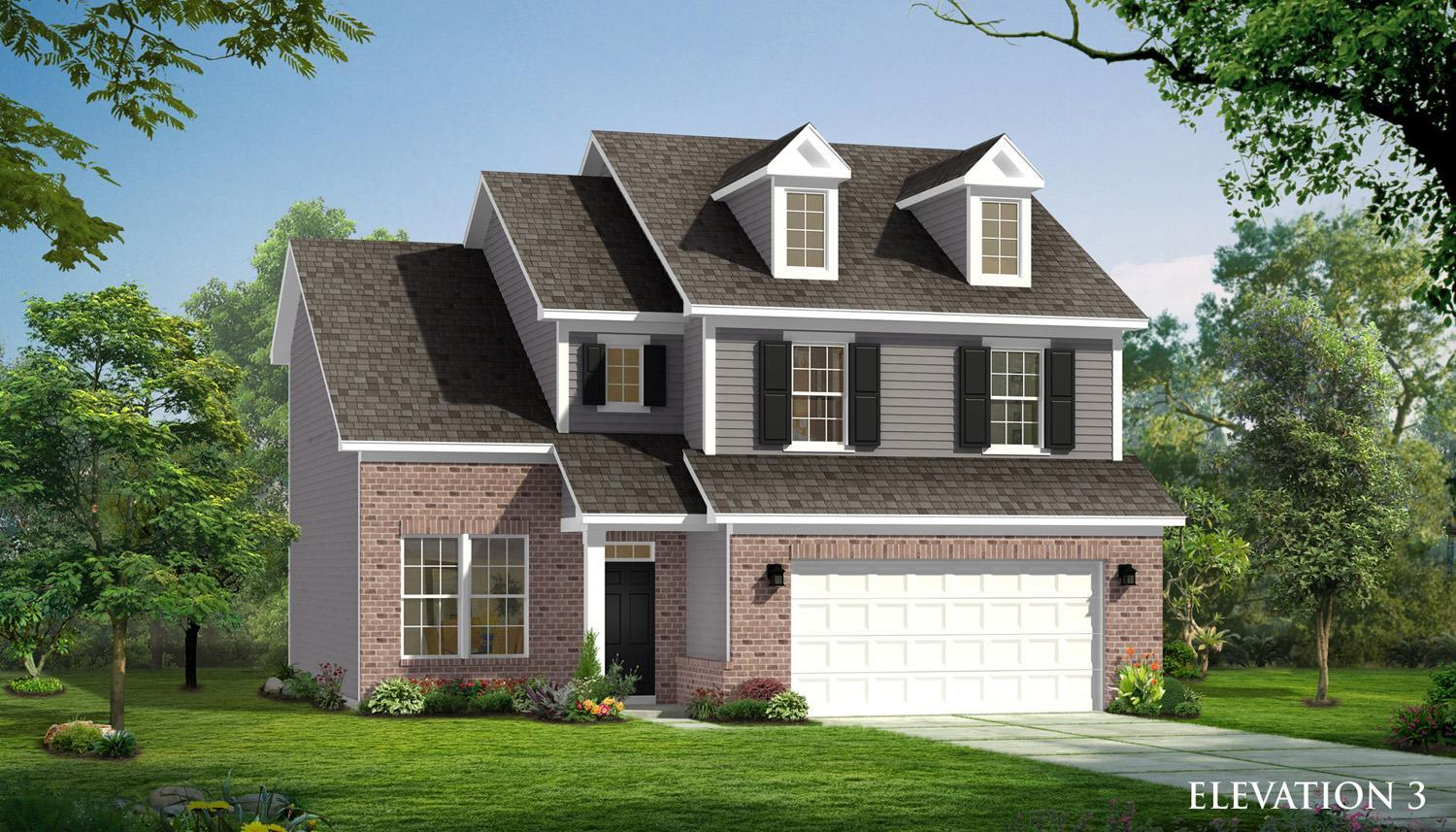 Exterior featured in the Cameron  By Dan Ryan Builders in Raleigh-Durham-Chapel Hill, NC