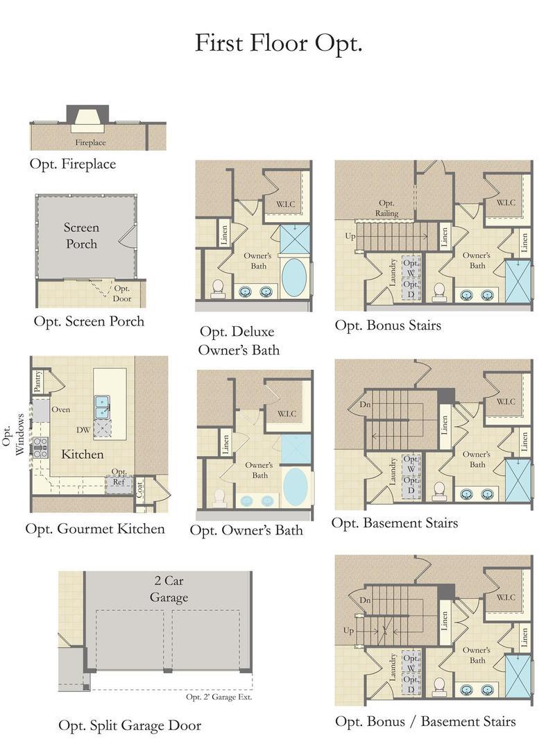 Cooper 3 Home Plan By Dan Ryan Builders In Raleigh Floorplans