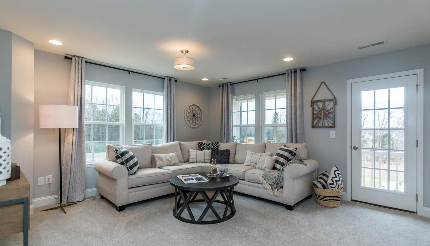 Living Area featured in the Devon By Dan Ryan Builders in Raleigh-Durham-Chapel Hill, NC