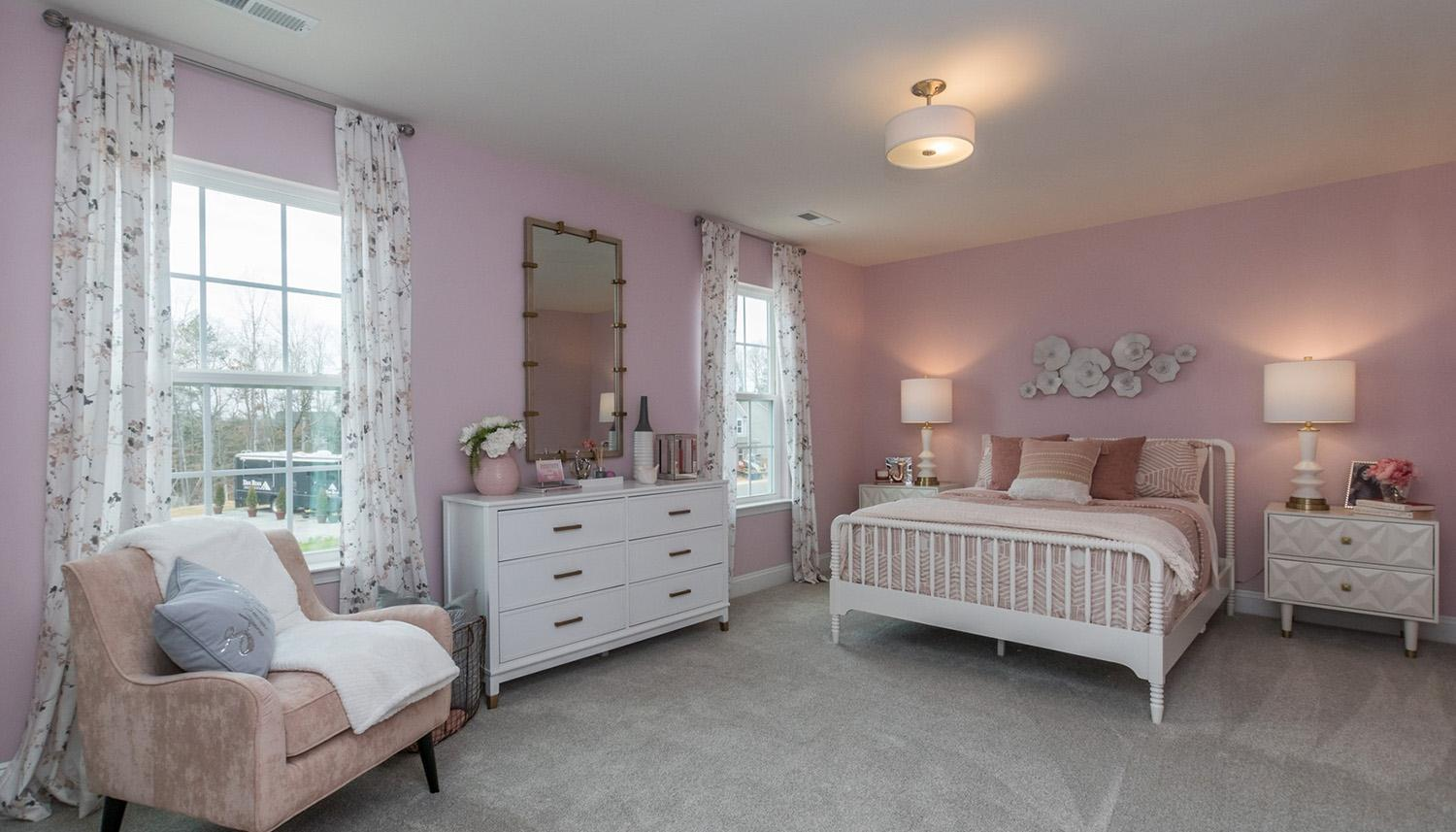 Bedroom featured in the Devon By Dan Ryan Builders in Raleigh-Durham-Chapel Hill, NC