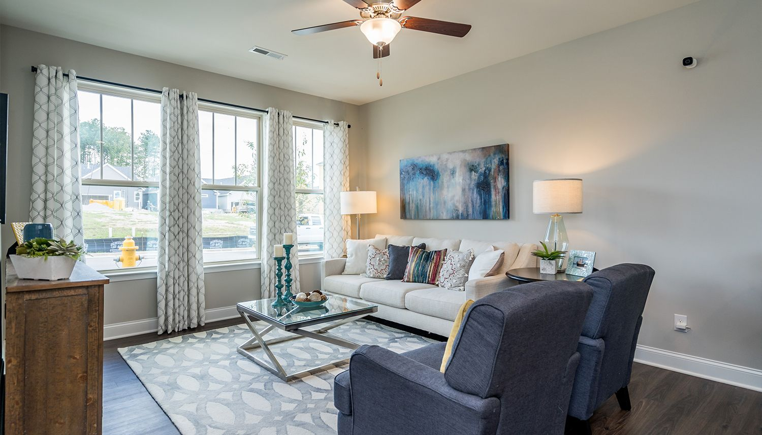 Living Area featured in the Winchester By Dan Ryan Builders in Raleigh-Durham-Chapel Hill, NC