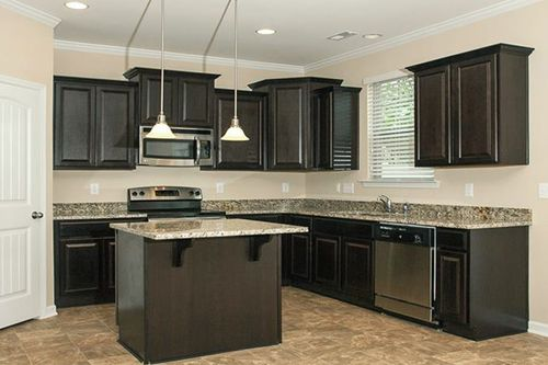 Kitchen-in-Devon-at-Ashberry Village at Olde Liberty-in-Youngsville