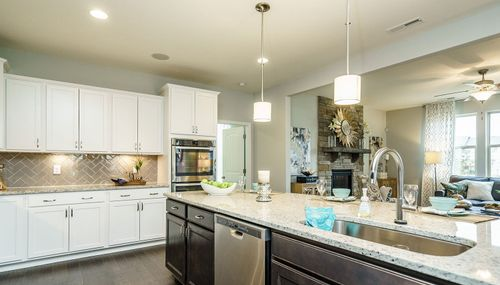 Kitchen-in-Stonefield-at-River Dell East ll at Flowers Plantation-in-Clayton