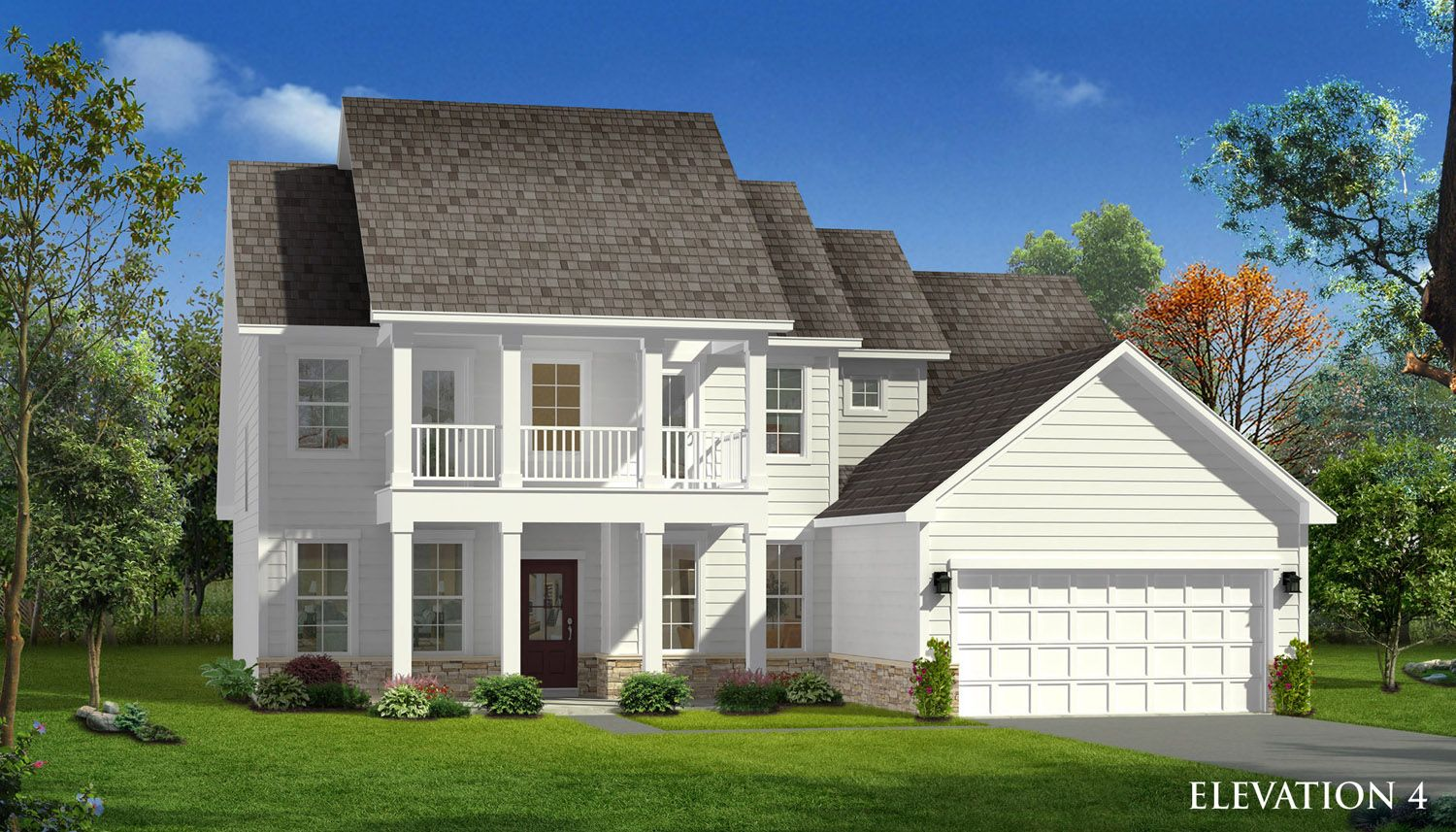 Exterior featured in the Marion By Dan Ryan Builders in Charlotte, SC