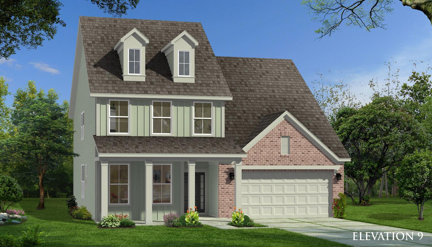 Exterior featured in the Drayton By Dan Ryan Builders in Charlotte, SC