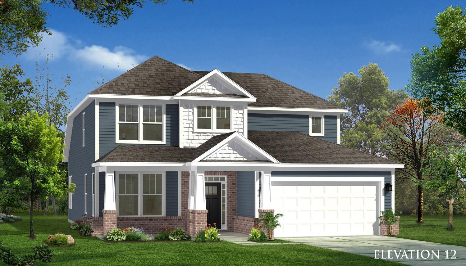 Exterior featured in the Middleton By Dan Ryan Builders in Charlotte, SC