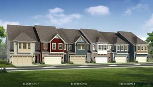 Salisbury - Paddlers Cove Townhomes: Clover, North Carolina - Dan Ryan Builders