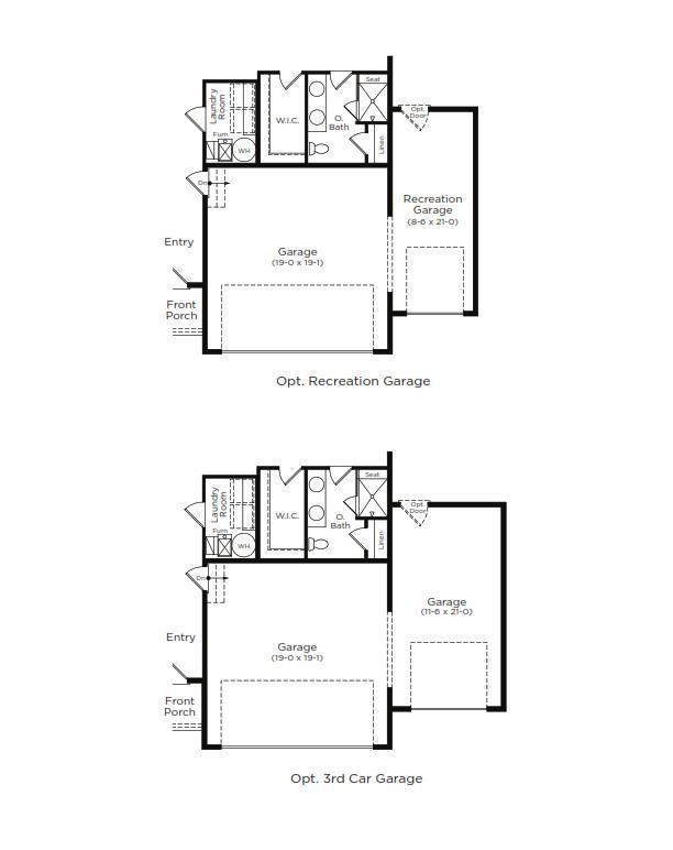 Aloha Home Plan by Dan Ryan Builders in Hawthorne