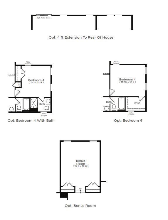 Dune Home Plan by Dan Ryan Builders in Hawthorne