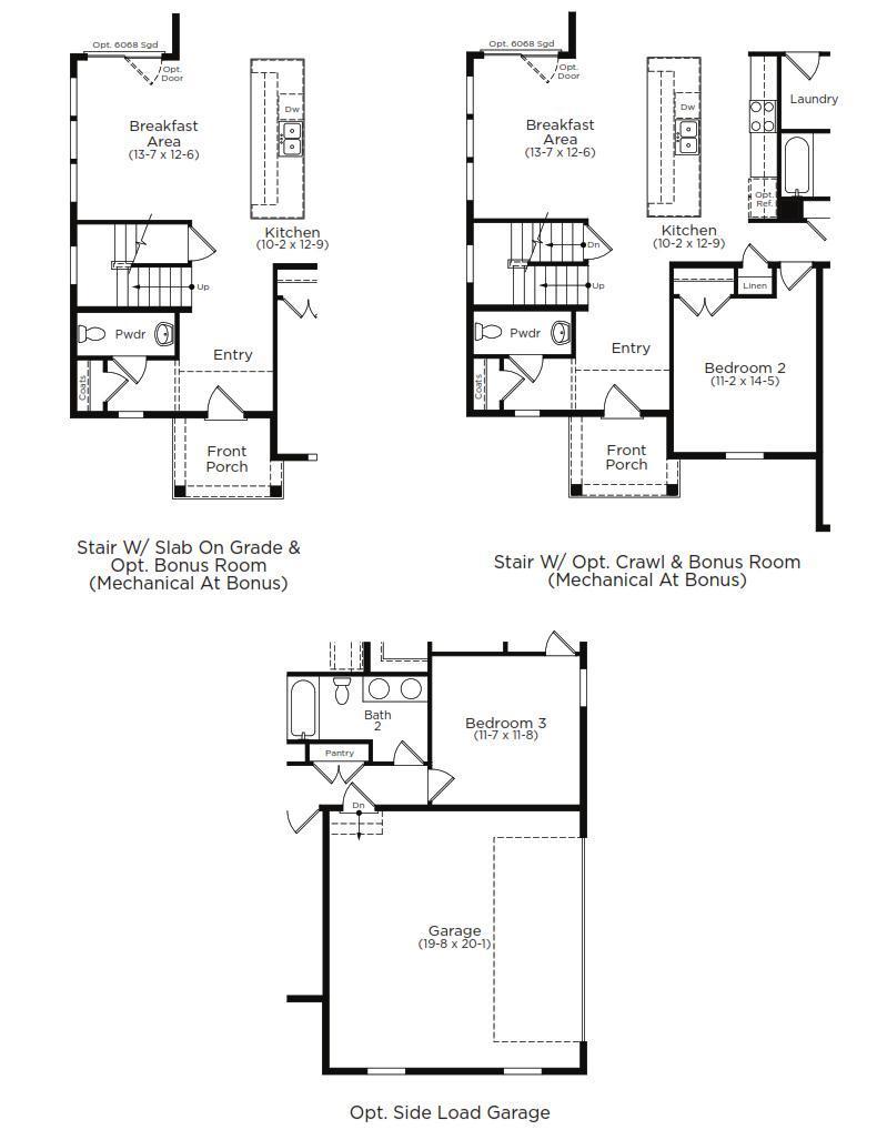 St. Kitts Home Plan by Dan Ryan Builders in Hawthorne