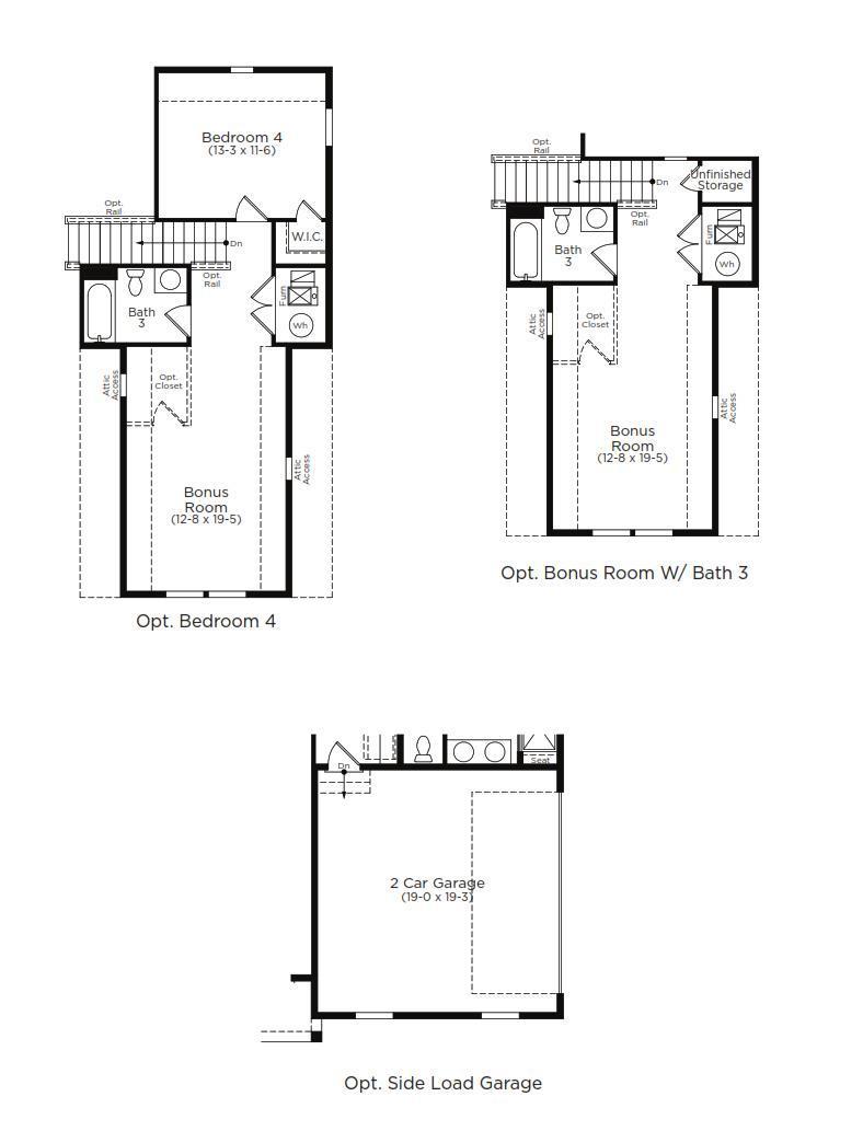 Latitude Home Plan by Dan Ryan Builders in Hawthorne