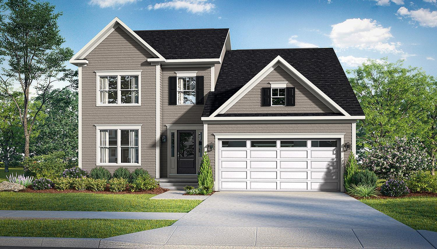 Exterior featured in the Dune By DRB Coastal in Sussex, DE