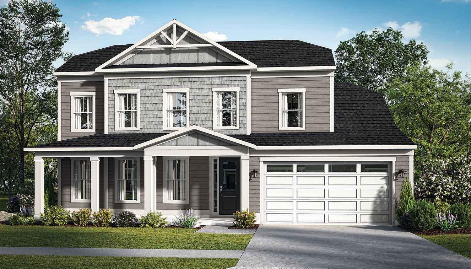 Exterior featured in the Barbados By DRB Coastal in Sussex, DE
