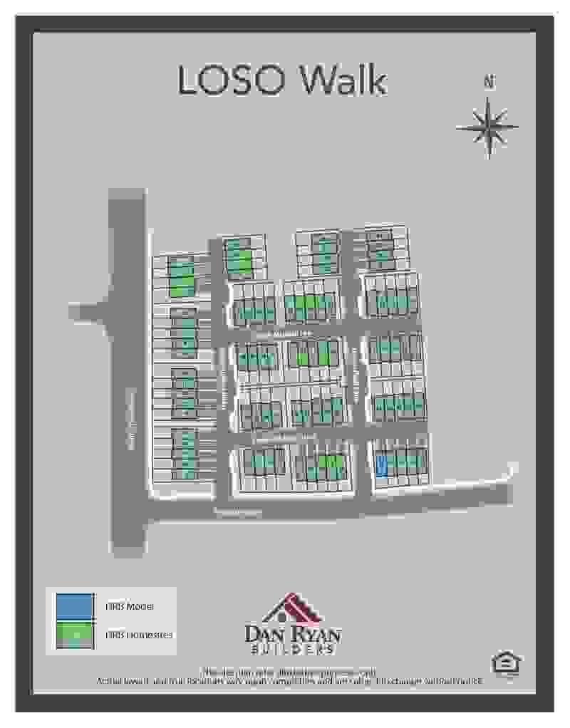 LoSo Walk Sitemap