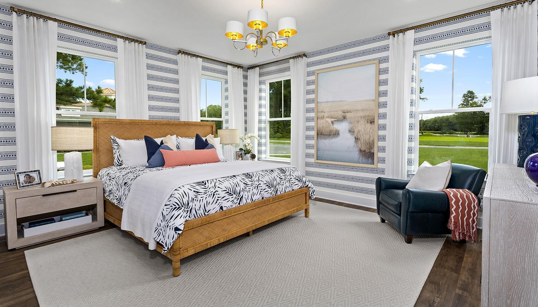 Bedroom featured in the St. Kitts By Dan Ryan Builders in Sussex, DE