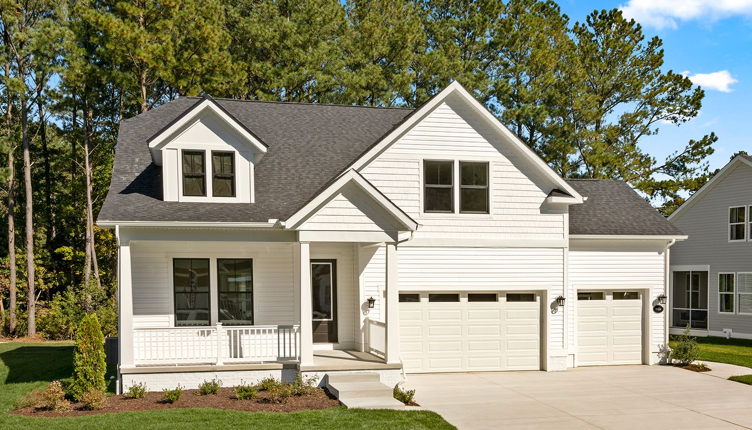 Exterior featured in the Latitude By DRB Coastal in Sussex, DE