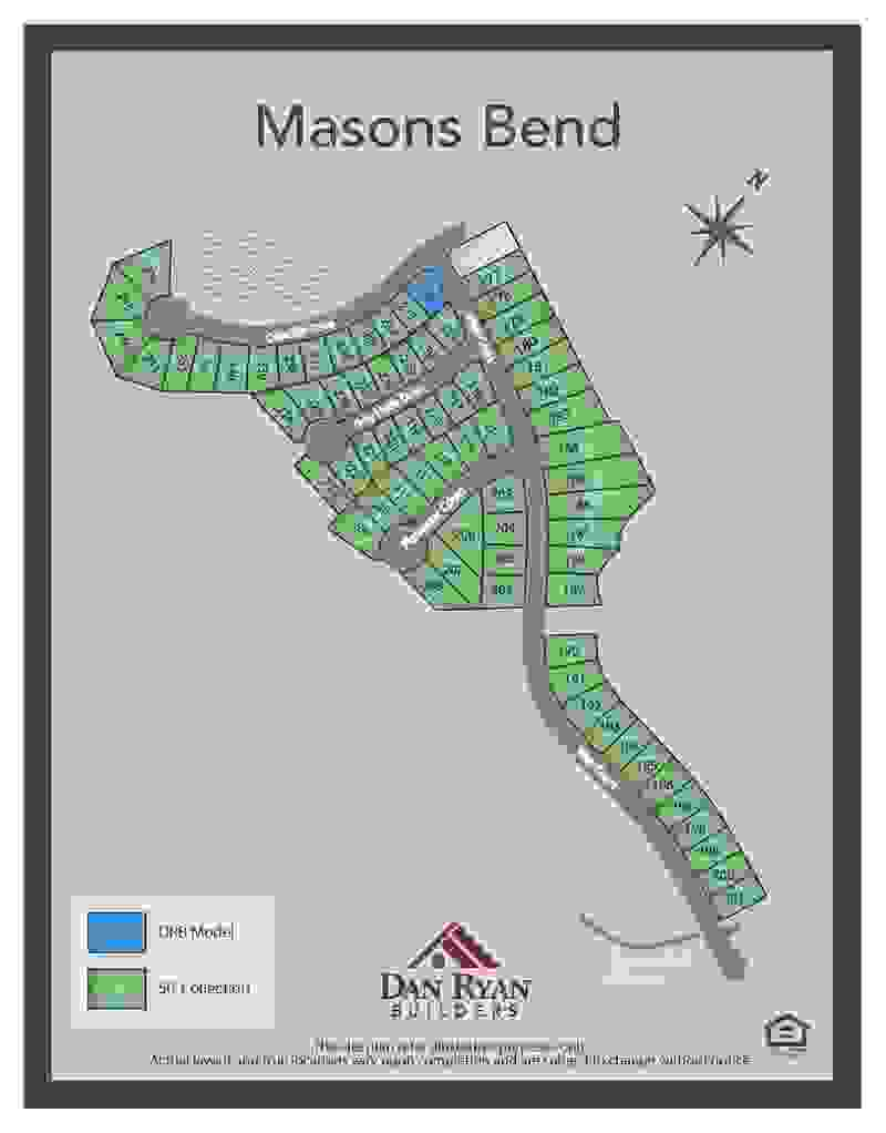 Masons Bend Sitemap SF 50's