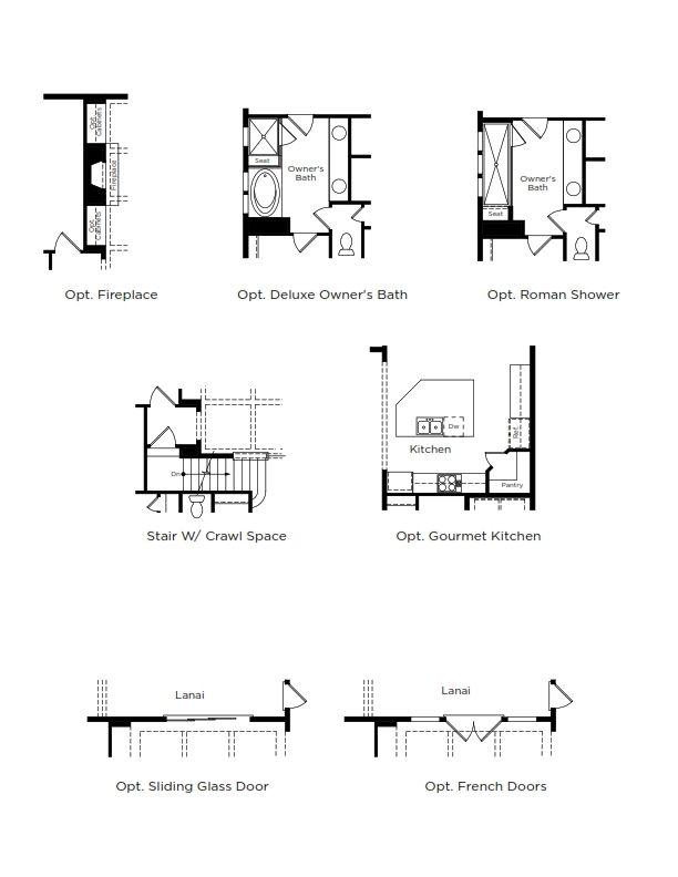 Barbados Home Plan by Dan Ryan Builders in Hawthorne