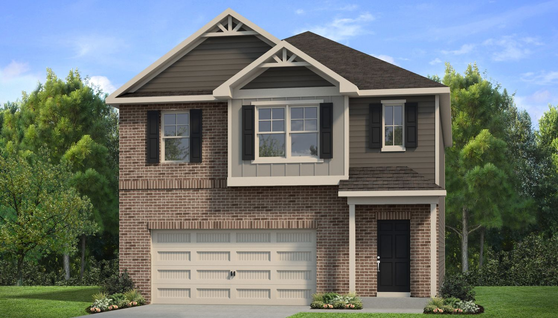 Exterior featured in The Layla II By Dan Ryan Builders in Atlanta, GA