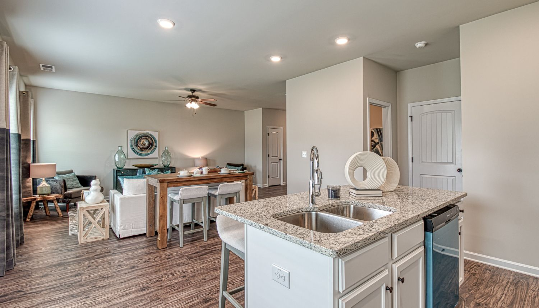 Kitchen featured in The Layla II By Dan Ryan Builders in Atlanta, GA