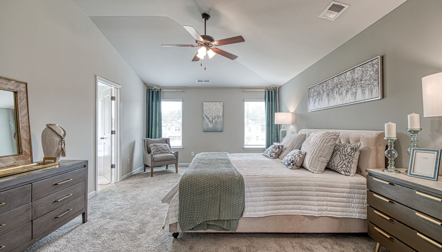 Bedroom featured in The Layla II By Dan Ryan Builders in Atlanta, GA