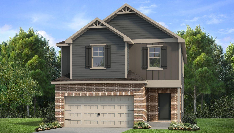 Exterior featured in The Reagan By Dan Ryan Builders in Atlanta, GA