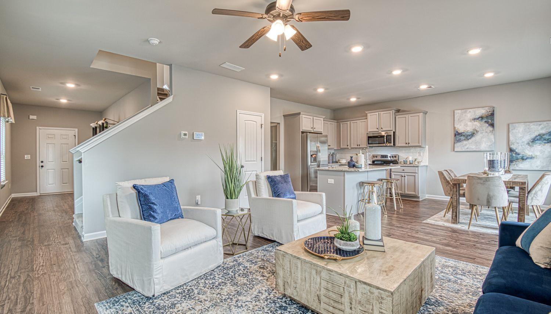 Living Area featured in The Reagan By Dan Ryan Builders in Atlanta, GA