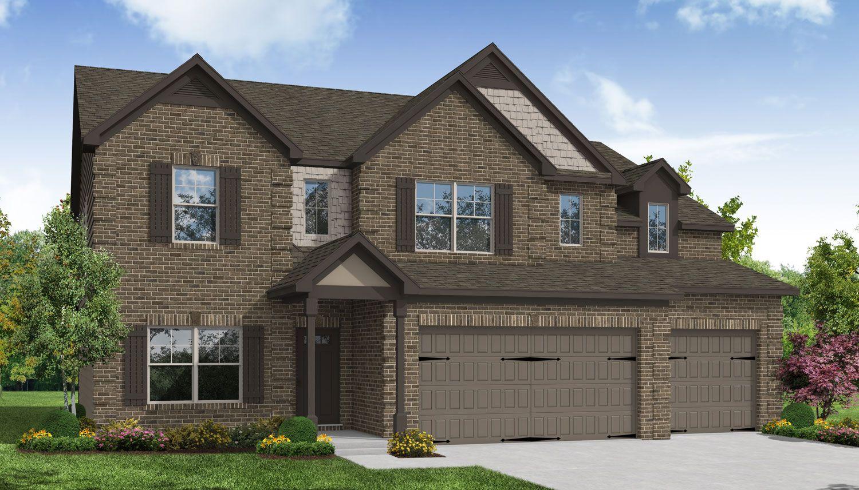 Exterior featured in the Abigail II By Dan Ryan Builders in Atlanta, GA