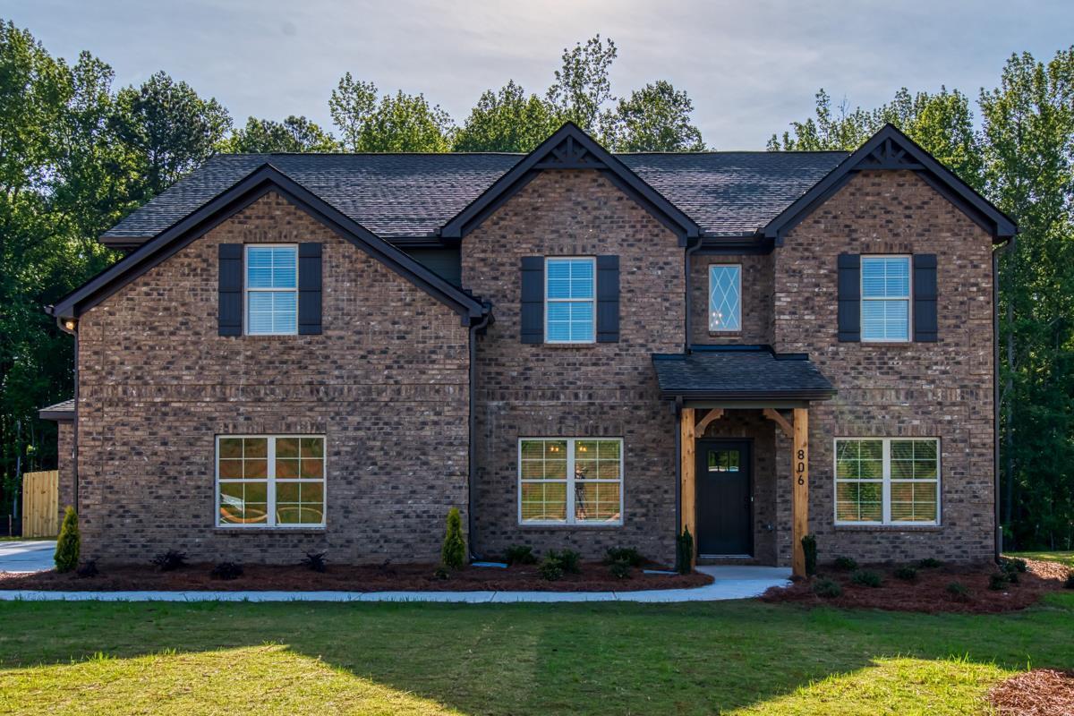 Exterior featured in the Bucknell (Previously Bristol II) By Dan Ryan Builders in Atlanta, GA