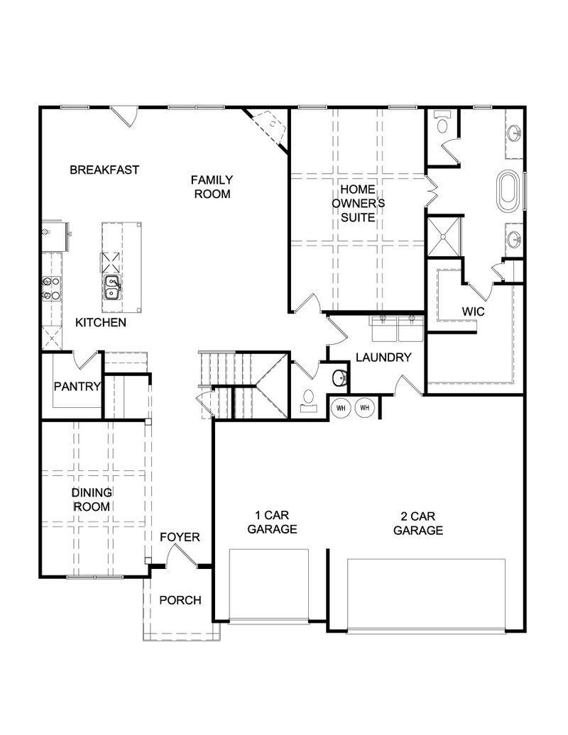 Roosevelt III Home Plan by Dan Ryan Builders in The Registry
