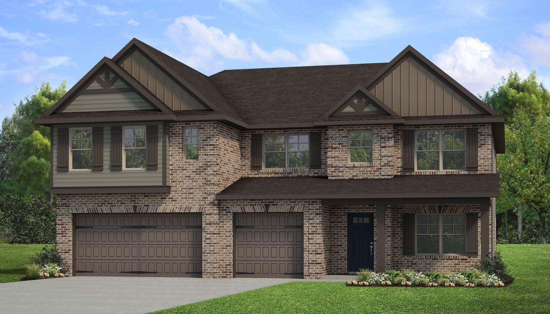 Exterior featured in the Rosemary II By Dan Ryan Builders in Atlanta, GA