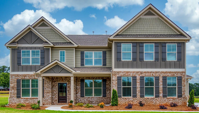 Exterior featured in the Coventry By Dan Ryan Builders in Atlanta, GA