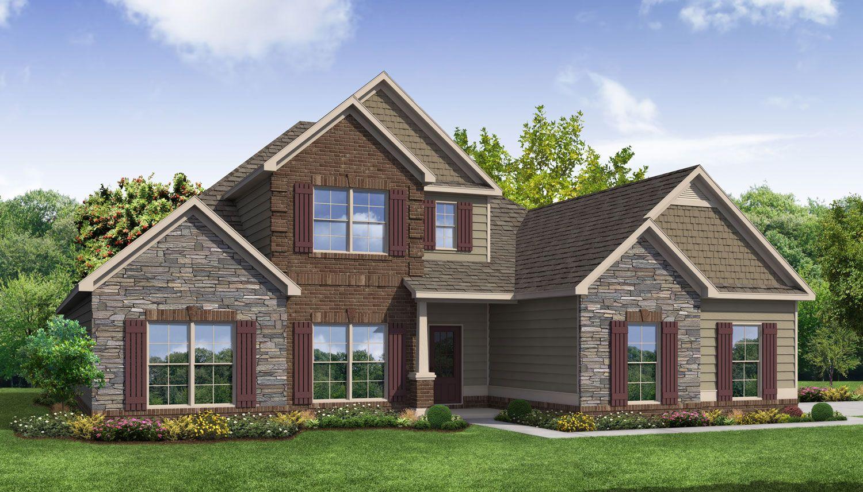 Exterior featured in the Deering II By Dan Ryan Builders in Atlanta, GA