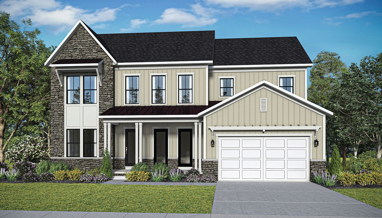 Exterior featured in the Richmond  By Dan Ryan Builders in Washington, VA