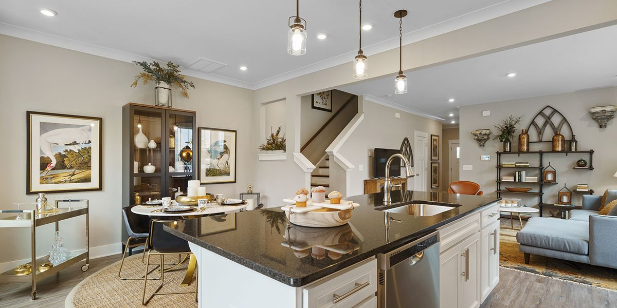 Living Area featured in the Egret By DRB Coastal in Charleston, SC