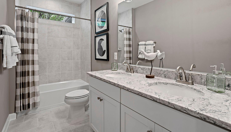 Bathroom featured in the Richmond  By Dan Ryan Builders in Washington, VA