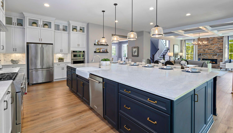 Kitchen featured in the Richmond  By Dan Ryan Builders in Washington, VA