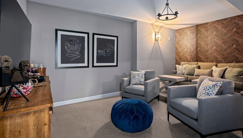Living Area featured in the Richmond  By Dan Ryan Builders in Washington, VA
