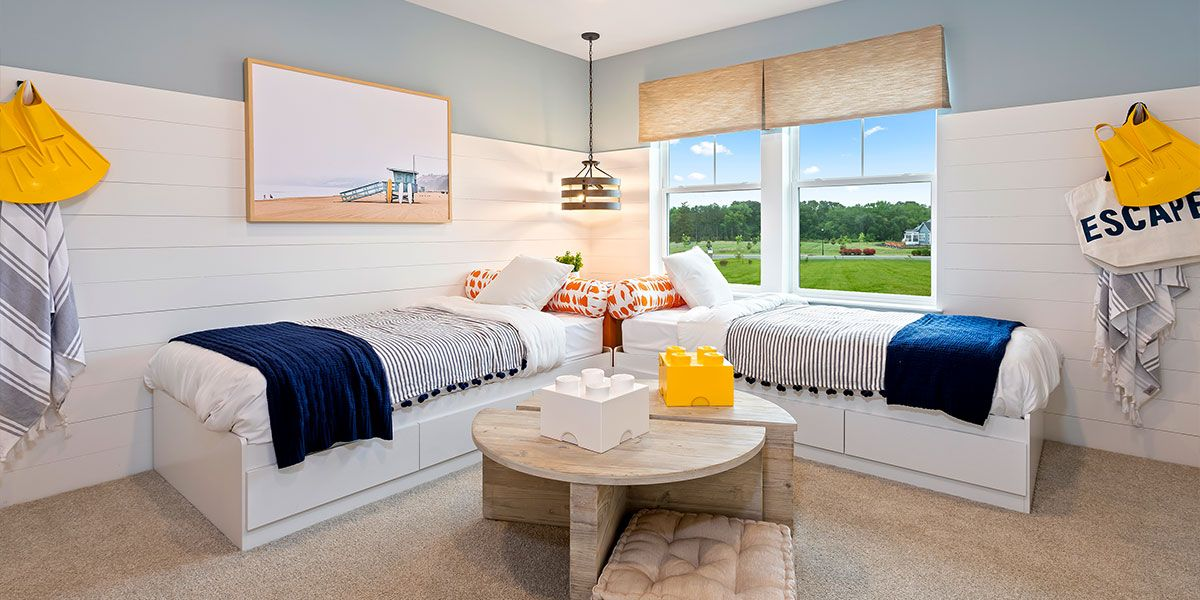 Bedroom featured in the St. Barts By DRB Coastal in Sussex, DE