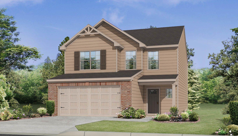Exterior featured in The Caroline By Dan Ryan Builders in Auburn-Opelika, AL