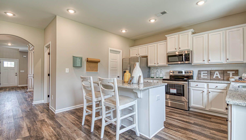 Kitchen featured in The Horizon By Dan Ryan Builders in Auburn-Opelika, AL