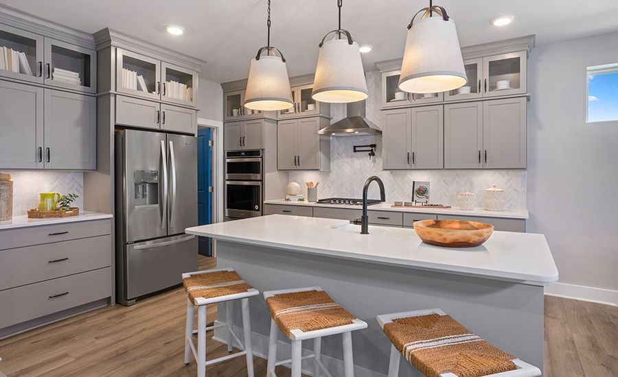 Kitchen featured in the Fiji By DRB Coastal in Sussex, DE