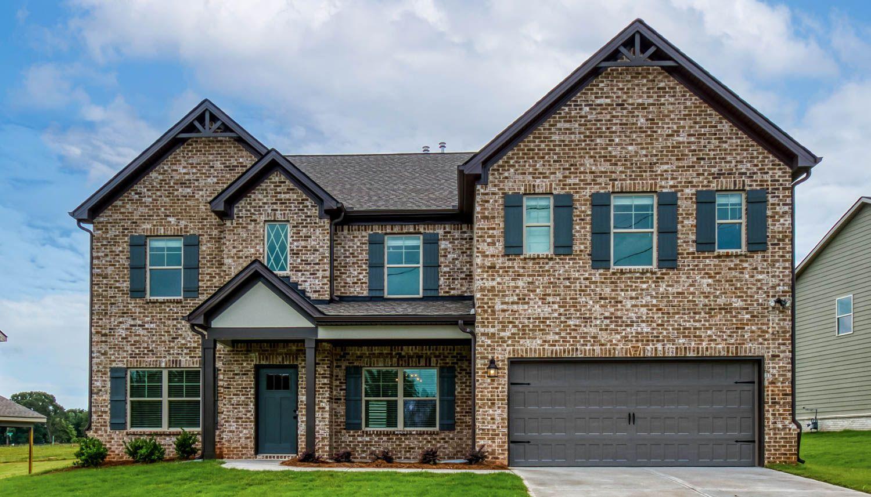 Exterior featured in the McKinley II By Dan Ryan Builders in Atlanta, GA
