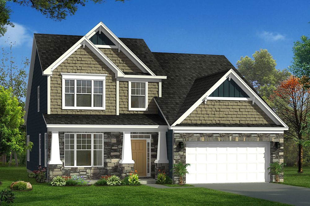 Middleton home plan by dan ryan builders in bridlewood farms for Middleton home