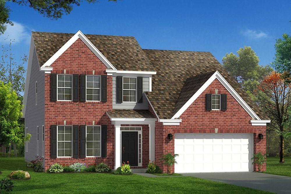 Middleton Home Plan By Dan Ryan Builders In Hunters Bend