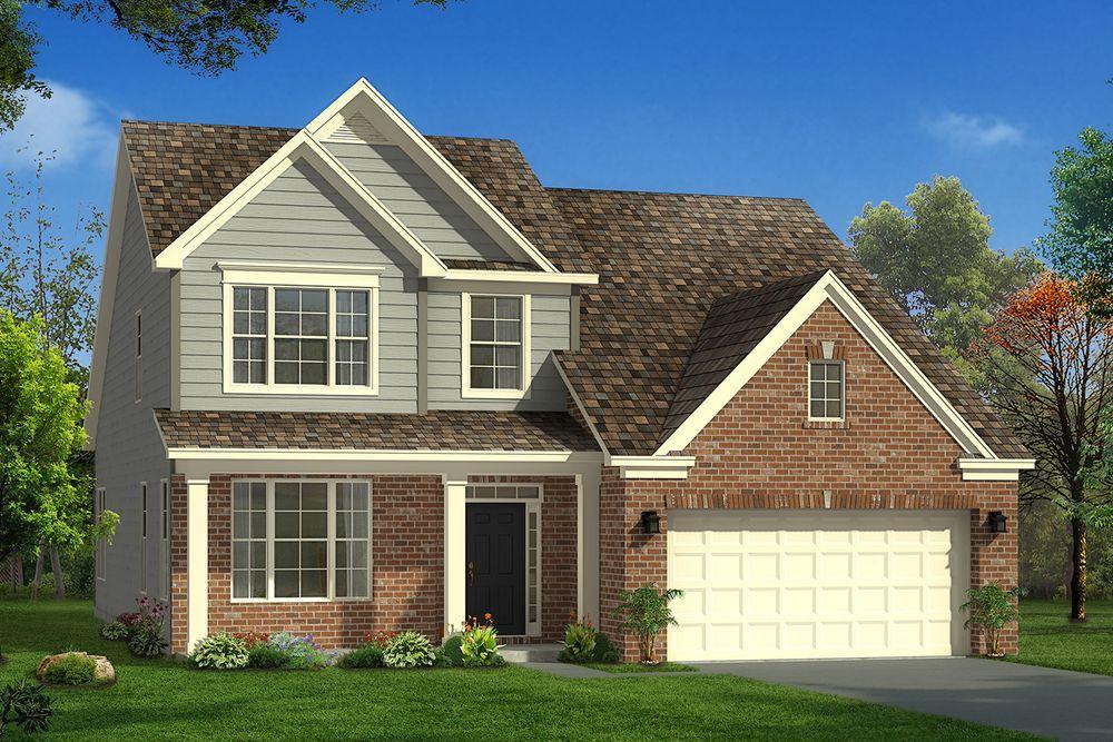 Middleton Home Plan By Dan Ryan Builders In Magnolia