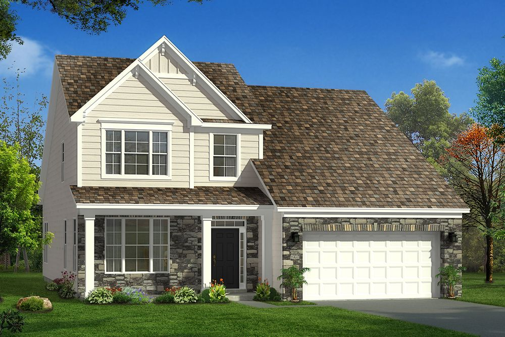 Middleton Home Plan By Dan Ryan Builders In Hunters Bend
