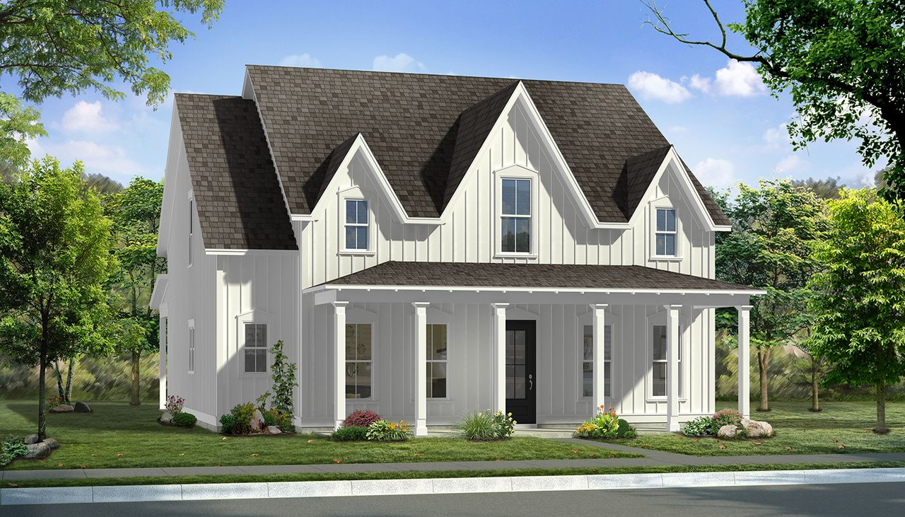 Preakness Ii Home Plan By Dan Ryan Builders In Summers Corner